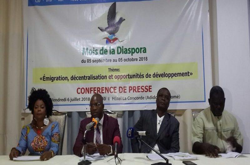 Le Collectif des Jeunes pour le Développement (CJD) organise « le mois de la diaspora »
