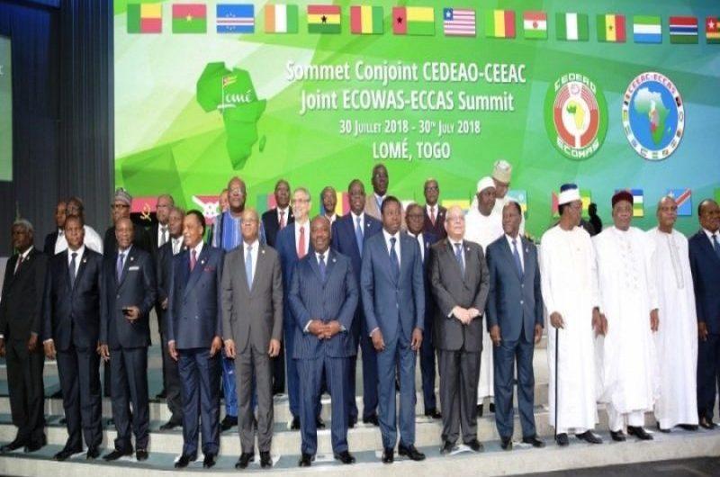 Ouverture du sommet CEDEAO et CEEAC à Lomé