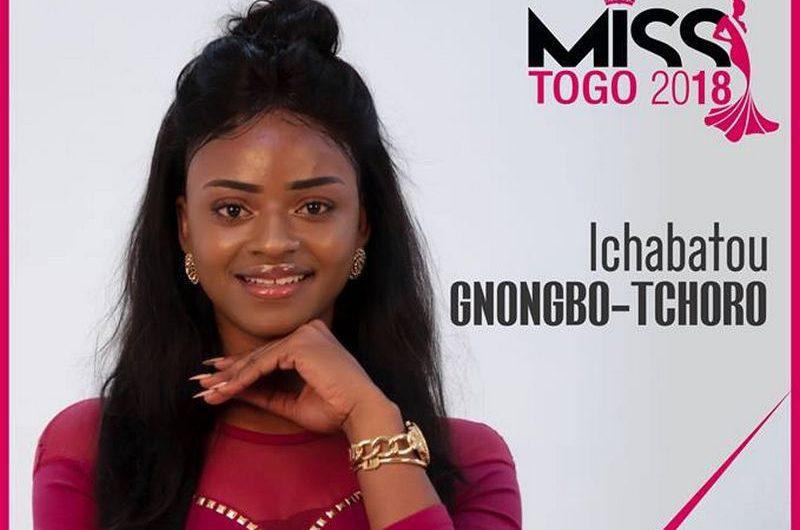 GNONGBO-TCHORO Ichabatou est élue Miss Togo 2018