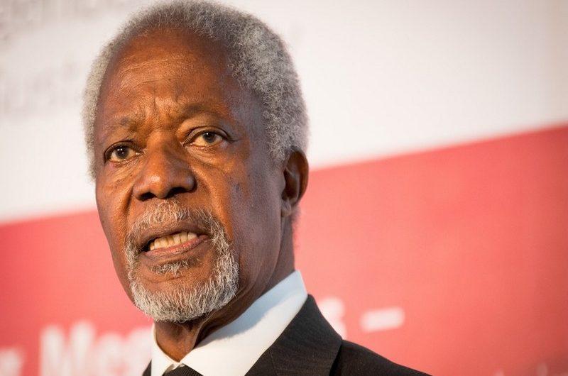 Kofi Annan, le premier africain SG de l'ONU, est mort