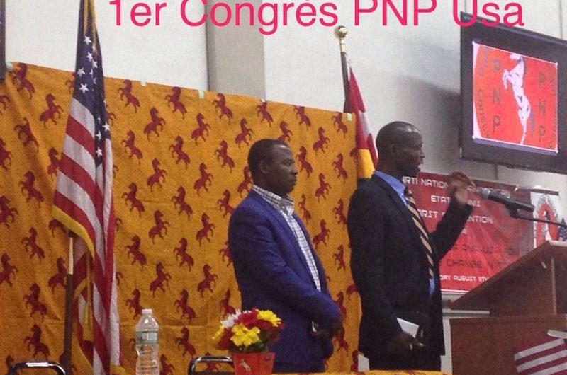 PNP USA / Le Parti National Panafricain est désormais représenté aux Etats-Unis