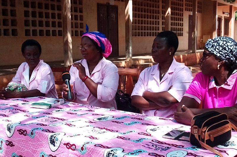 Togo : La JCI Lomé Azur sensibilise sur les cancers du sein et du col de l'utérus