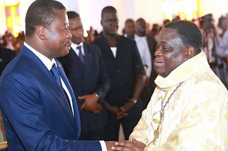 Faure Gnassingbé, invité à l'ouverture du nouveau sanctuaire de Kovié