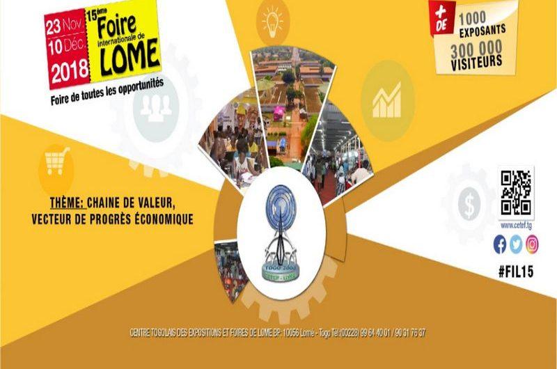 Retour sur l'ouverture de la foire de Lomé