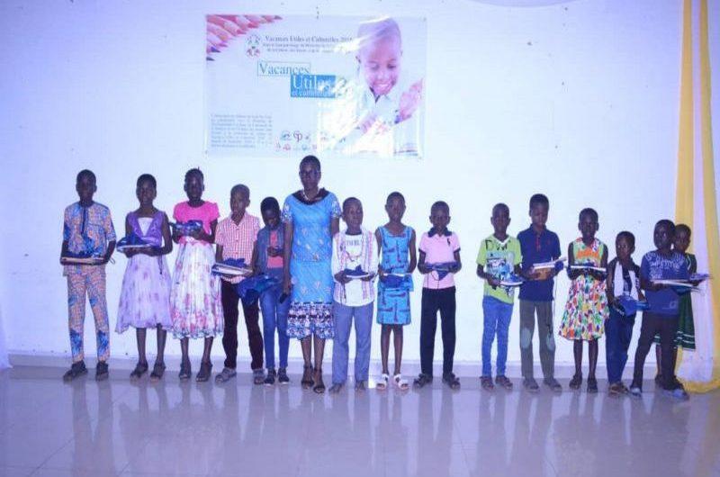L'Association les Enfants de Saint Pio-Togo rend utiles les vacances