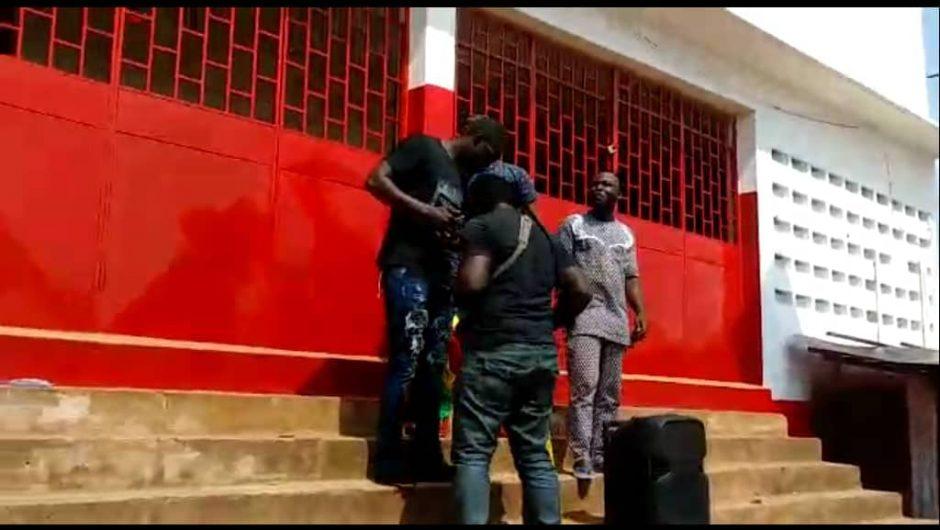 Togo/Faits divers: Qui a changé la peinture du siège PNP Sokodé?
