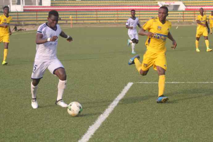 Togo/Football-D1 : l'ASCK reprend la tête du championnat après une journée marquée par des scènes de violence.