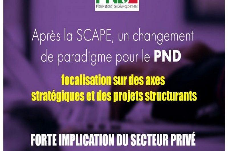 Plan National de Développement (PND) 2018-2022 c'est pour le 04 mars 2019