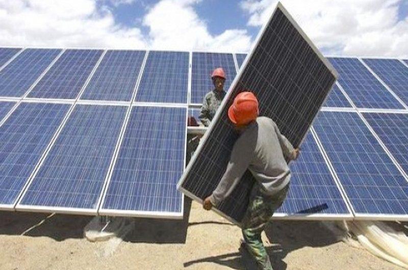 Une centrale solaire photovoltaïque dans la préfecture de Bassar