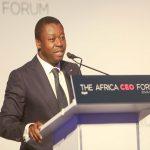 """Faure Gnassingbé ouvre la session """" Invest in Togo """" au forum economique CEO Africa forum à Kigali."""