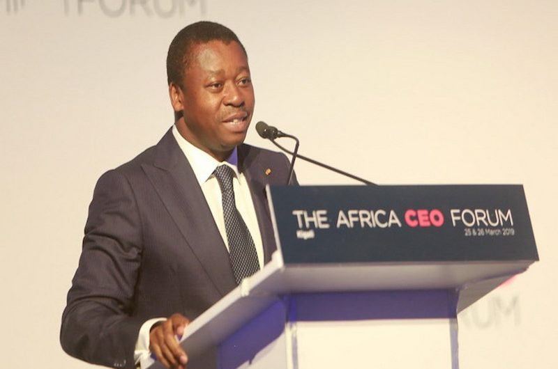 "Faure Gnassingbé ouvre la session "" Invest in Togo "" au forum economique CEO Africa forum à Kigali."