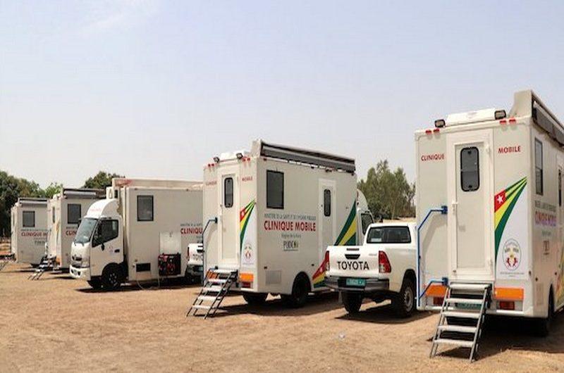 PUDC: la ville de Kantè bénéficie des cliniques mobiles.