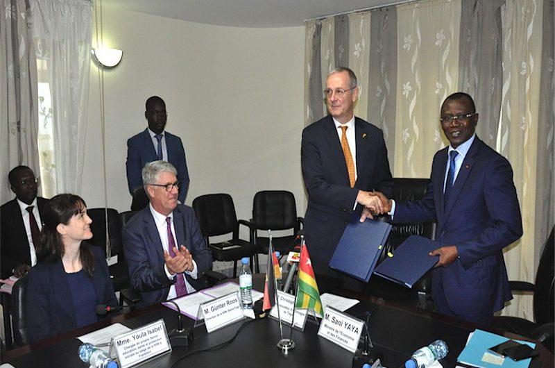 Coopération : l'Allemagne octroie un don de de 4,6 milliards de FCFA au Togo