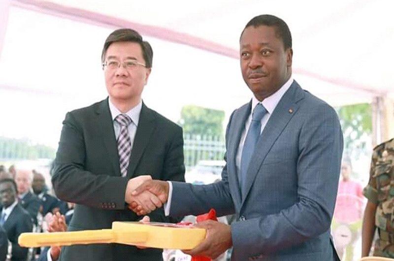 Le nouveau Centre Administratif de Lomé inauguré par Faure Gnassingbé.