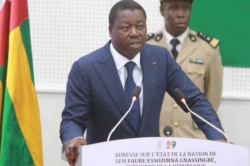 L'intégralité du discours de Faure Gnassingbé sur l'état de la nation.