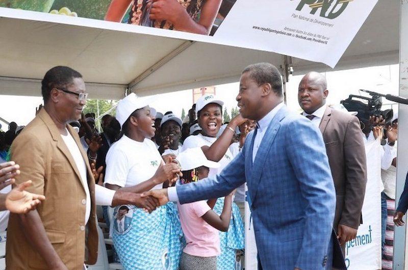Faure Gnassingbé lance le «PND Tour»  dans le Zio.