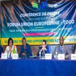 Forum Togo-UE : la date pour la clôture de l'appel à projets fixée au 30 avril 2019.
