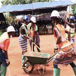Le projet des Travaux à haute intensité de main d'œuvre (THIMO) officiellement lancé.