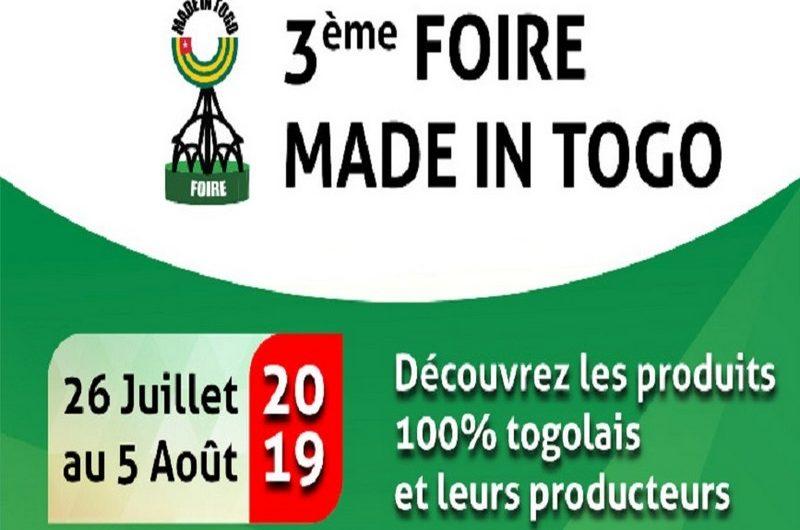 La Foire « Made in Togo » ouvrira ses portes le vendredi 26 juillet.