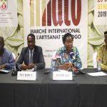 Victoire Tomégah-Dogbé lance la première édition du marché international de l'artisanat au Togo(Miato).