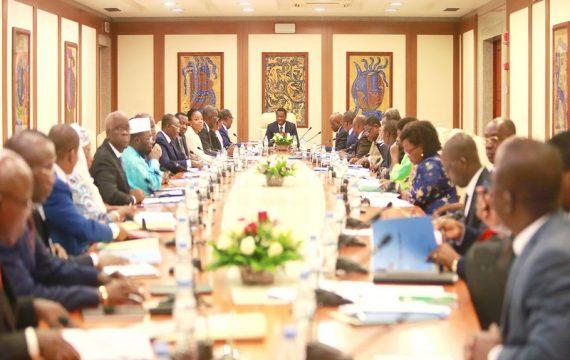 L'intégralité du communiqué sanctionnant le conseil des ministres du 31 juillet 2019.