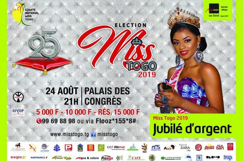 Grande Finale Miss Togo 2019, découvrez la liste des candidates