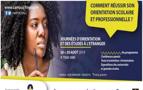 Campus Togo organise trois journées pour bien choisir sa formation