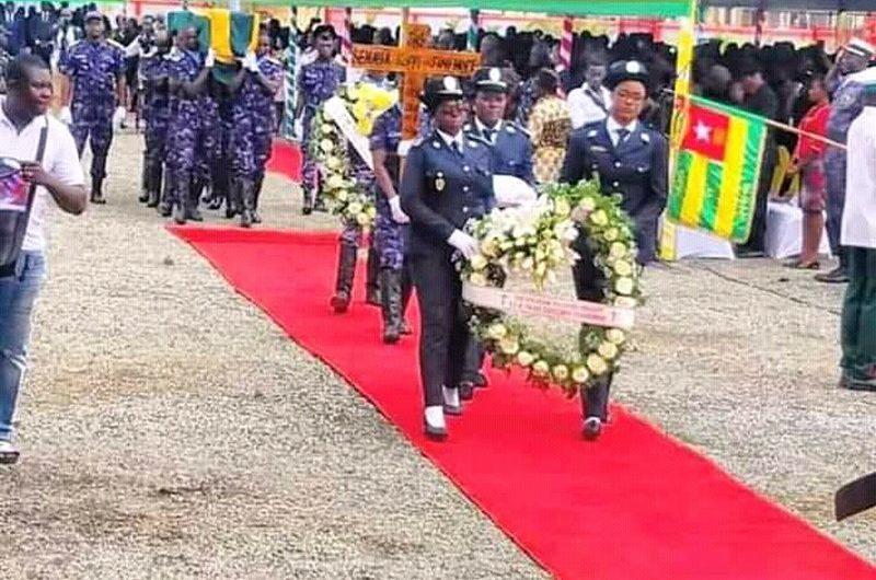 Le Togo rend un dernier hommage à Jimi Hope.