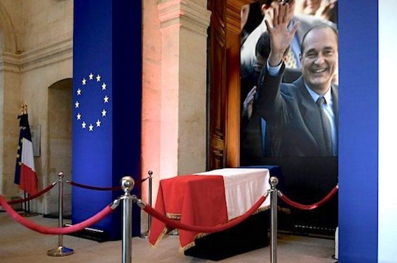 Faure Gnassingbé a pris part aux obsèques de Jacques Chirac.