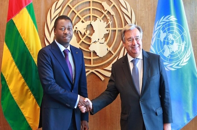 Assemblée Générale de l'ONU:Voici les sujets à l'agenda du président Faure Gnassingbé.