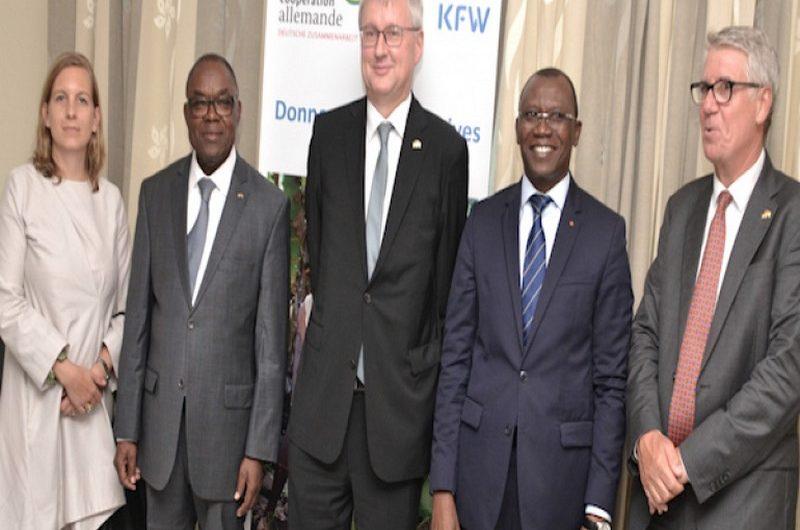 Le Togo obtient 5 milliards de FCFA de l'Allemagne pour soutenir la décentralisation.