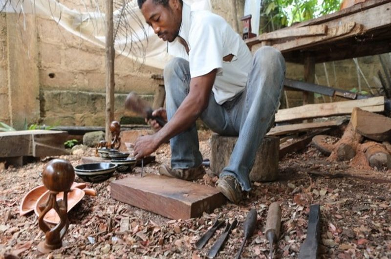L'Allemagne vient en aide aux artisans du Togo.