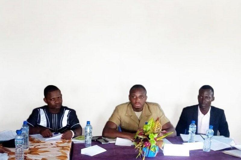 Le Maire Mey Gnasssingbé a dirigé la première réunion du Conseil municipal de sa commune