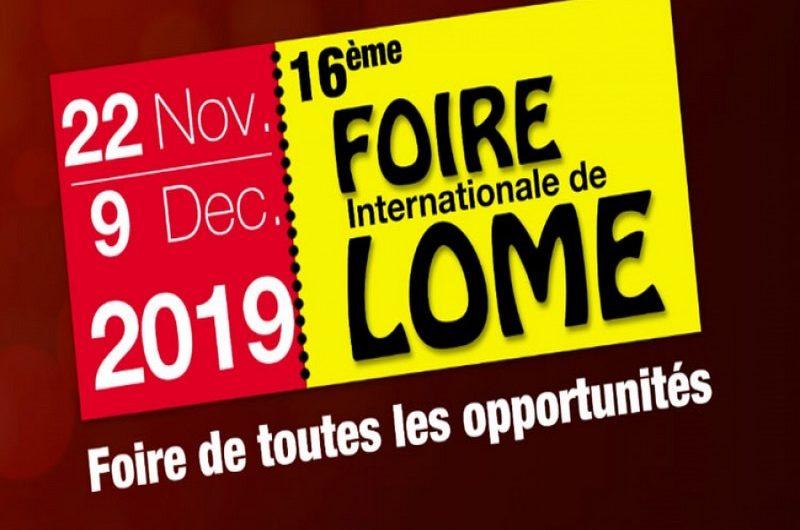 Ouverture officielle des activités de la 16ème Foire Internationale de Lomé.