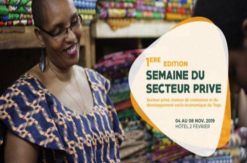 La semaine dédiée au secteur privé s'est ouverte ce lundi à Lomé.