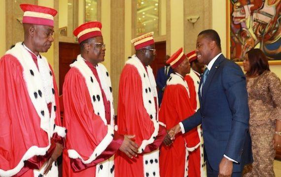 Togo: les nouveaux membres de la cour constitutionnelle ont prêté serment ce lundi.