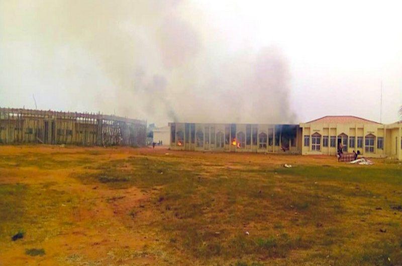 Togo: la Maison des Jeunes de Lomé victime d'un incendie.