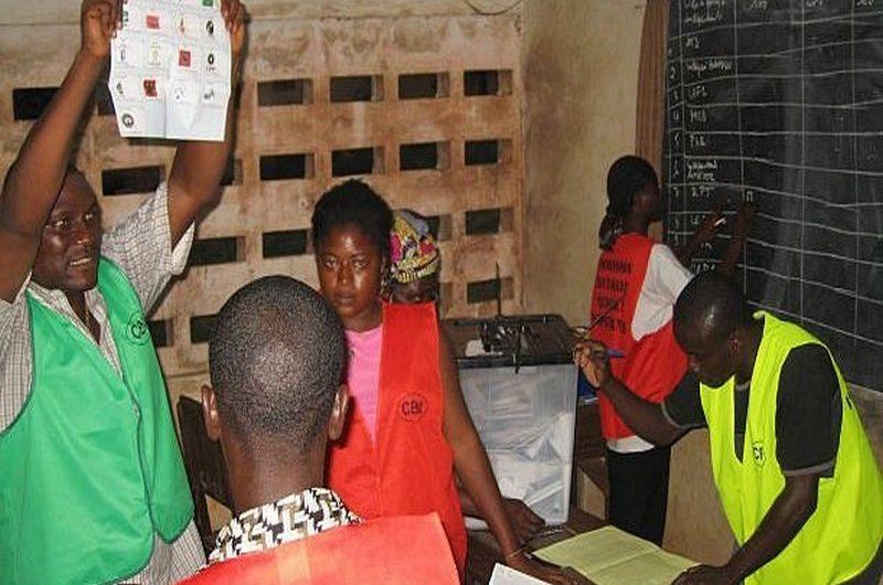 Togo/Elections présidentielles 2020: voici le spécimen du bulletin de vote.