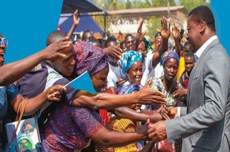 Togo/Elections présidentielles 2020: Faure Gnassingbé choqué par le geste d'un candidat à l'élection présidentielle.