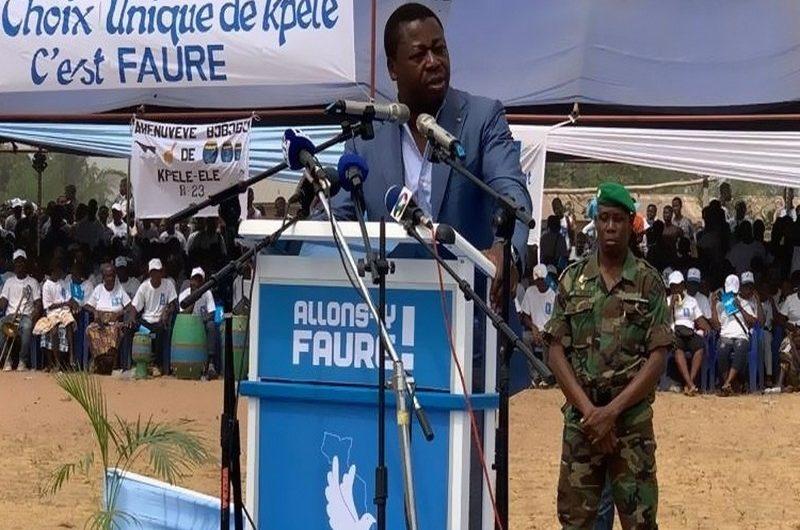 Togo/Elections présidentielles 2020: les grandes annonces de Faure Gnassingbé dans le domaine social.