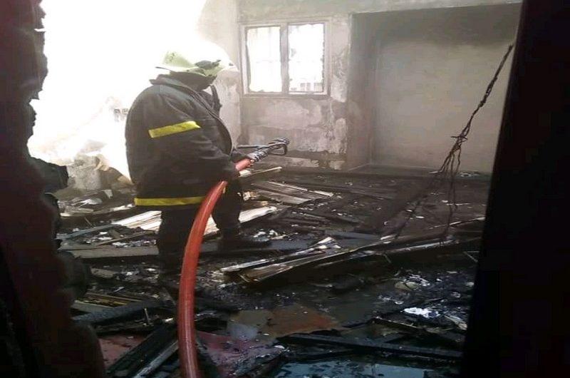 La maison des jeunes de Kara à son tour victime d'un incendie ce lundi 3 fevrier.