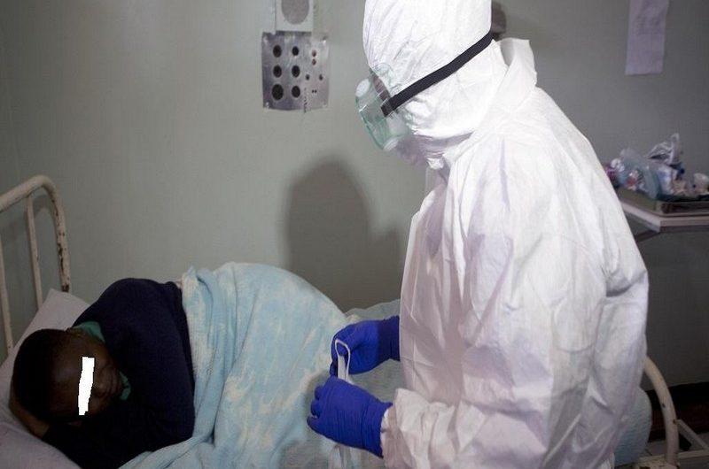 La localité de Djarkpanga, nouveau foyer de l'épidemie de coronavirus au Togo.