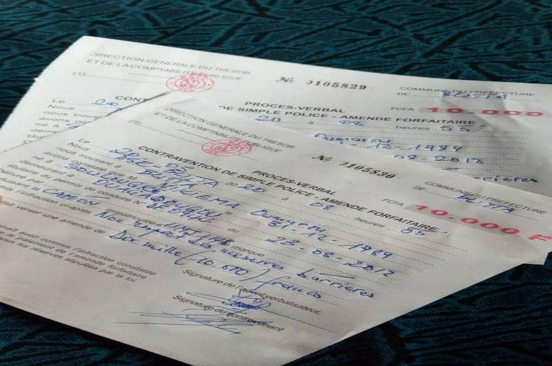 Togo/Covid-19: les amendes tombent pour le non respect des mesures barrières.