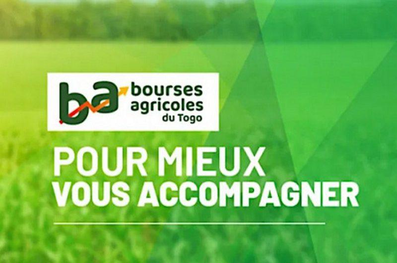 Le Togo lance une bourse agricole et alimentaire.