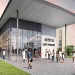 Togo: l'hôpital de référence Saint Pérégrin prend forme.
