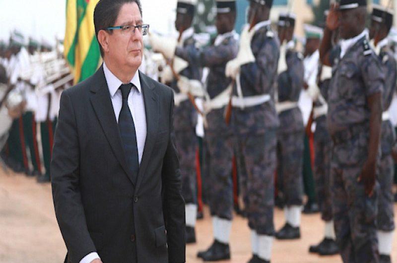 L'ambassadeur de France au Togo Marc Vizy félicite les autorités pour la gestion de la crise de la covid-19.