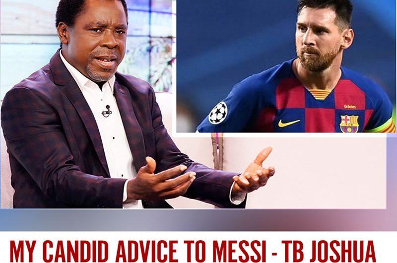 Football: les conseils du prophète TB Joshua à Lionel Messi après ses envies de départ du FC Barcelone.