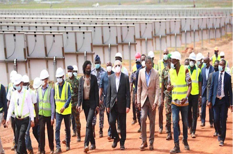 Togo/Centrale «Sheikh Mohammed Bin Zayed»: Faure Gnassingbé constate l'évolution des travaux.