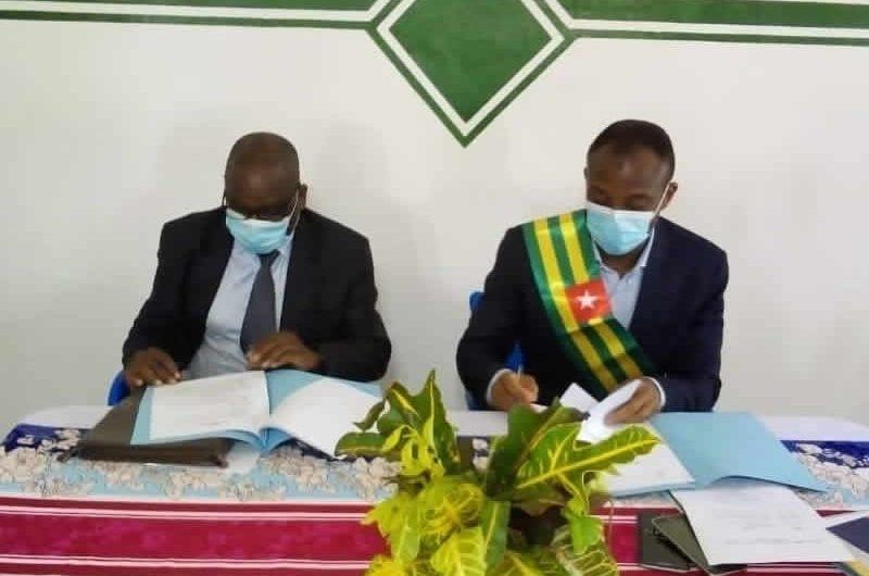 La modernisation de la ville d'Amou Oblo au coeur d'un partenariat avec l'EAMAU