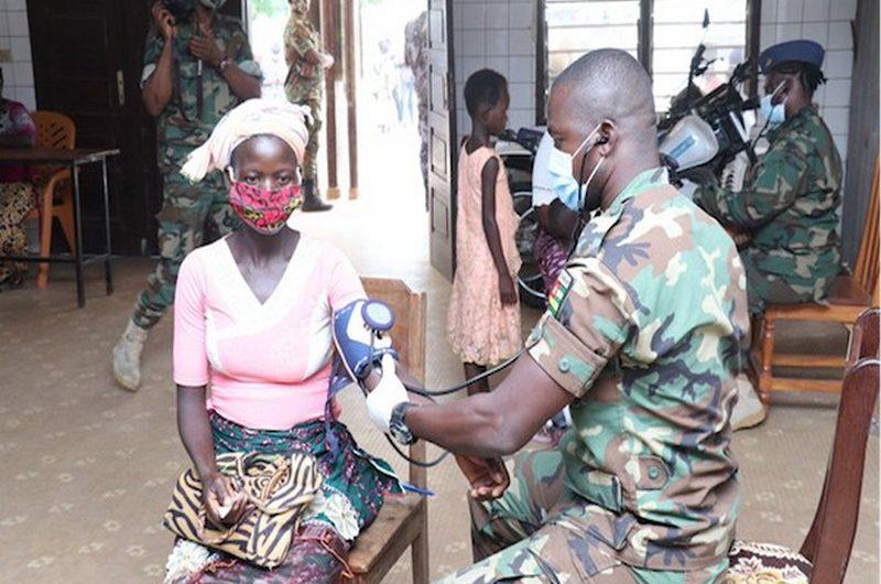 Togo: l'armée togolaise au chevet des populations.